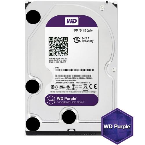 WD Purple 1TB 5400/SATA3/64MB WD10PURZ
