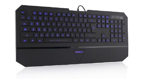 ModeCom 7-Color Backlit Multimedia Keyboard MC-800M