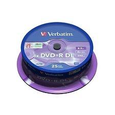 Verbatim DVD+R Dual Layer 8.5GB/240min 8x 25pcs