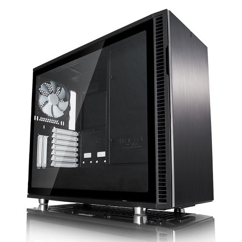 FD DEFINE R6 BLACK TEMP GLASS