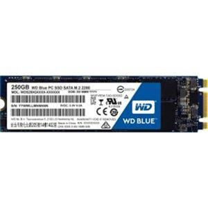 WD Blue 250GB M.2 2280(80 X 22mm) SATA III TLC, read-write: up to 540MBs, 500MBs WDS250G2B0B