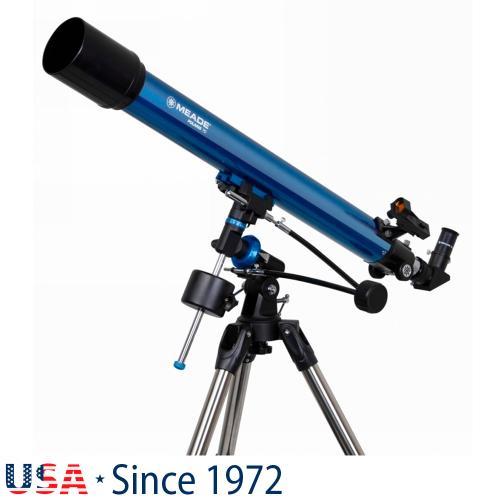 Рефракторен телескоп Meade Polaris 70 mm EQ