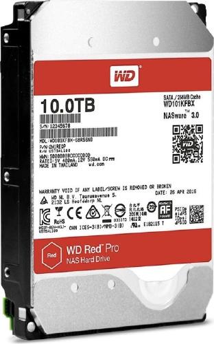 WD Red PRO NAS 10TB 7200/SATA3/256MB WD101KFBX