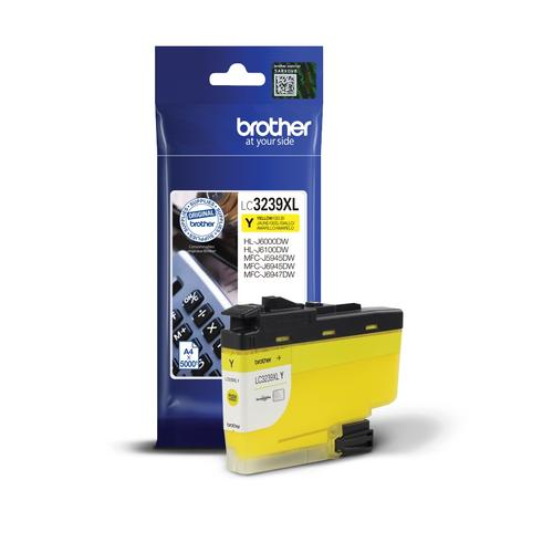 Brother LC-3239XL Yellow High-yield Ink Cartridge LC3239XLY