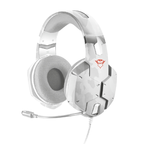 TRUST GXT 322W Gaming Headset - white camouflage 20864