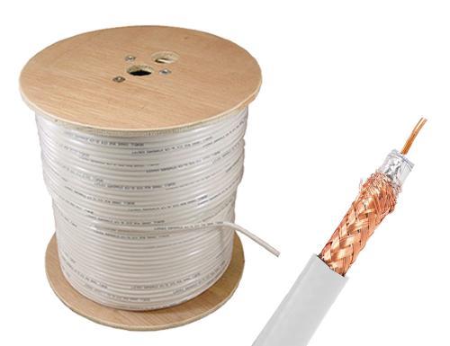 Коаксиален кабел ролка 300м RG59 U/6 300m
