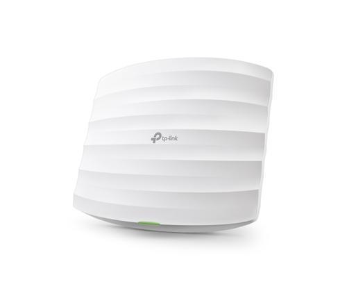 TP-Link EAP245 Tочка за достъп TP-LINK EAP245, 1.75Gbps, 2.4GHz/5GHz, 2xGbit PoE порт, таванен/стенен монтаж