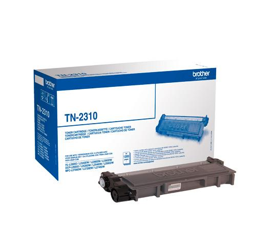 Brother Toner Black BROTHER 1200p. for HLL2300D, TN2310, HLL2365DW, HLL2360DN, HLL2340DW, DCPL2540DN, DCPL2520DW, DCPL2500D, MFCL2700DW