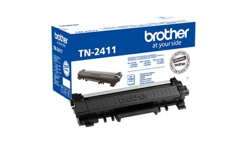 Brother Toner BROTHER Black for DCPL2512D, TN2411, DCPL2532DW, DCPL2552DN, HLL2312D, HLL2352DW, HLL2372DN, MFCL2712DN, MFCL2712DW, MFCL2732DW, up to 1200 p.