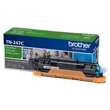 Brother Toner TN247C for DCP-L3510CDW, TN247C, DCP-L3550CDW, HL-L3210CW, HL-L3270CDW, MFC-L3730CDN, MFC-L3770CDW up to 2300 pages, Cyan