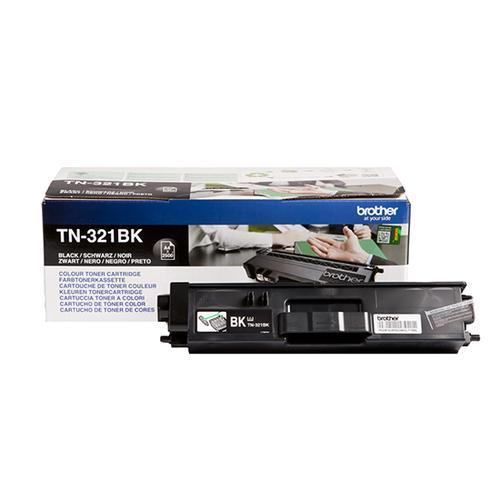 Brother Toner BROTHER Black for DCPL8400CDN / L8450CDN, TN321BK, HLL8350CDW / L8250CDN, MFCL8650CDW / L8850CDW, 2500p.