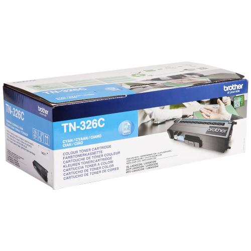 Brother Toner Cyan cartridge BROTHER (4000 p.) for DCP L8400CDN, TN326C, L8450CDW; HL-L8250CDN, L8350CDW, L8350CDWT; MFC L8650CDW, L8850CDW