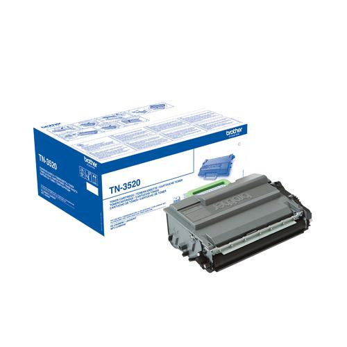 Brother Toner BROTHER Black for HLL6400DW, TN3520, HLL6400DWT, MFCL6900DW, MFCL6900DWT, 20 000p.