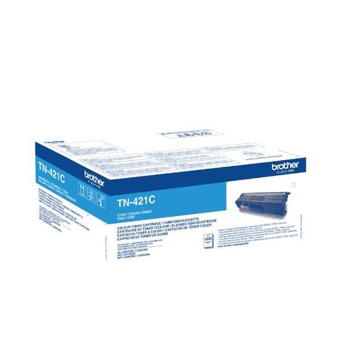 Brother Toner BROTHER TN-421C for HL-L8260CDW, TN421C, HL-L8360CDW, DCP-L8410CDW, MFC-L8690CDW, MFC-L8900CDW up to 1800 pages