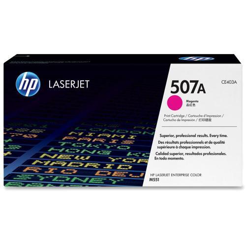 HP Консуматив 507A Original LaserJet cartridge; magenta; 6000 Page Yield ; 1 - pack; LaserJet Pro 500 color MFP M570/Enterprise 500 color MFP M575/Enterprise 500 color M551 CE403A