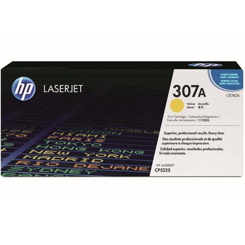 HP Консуматив 307A Original LaserJet cartridge; yellow; 7300 Page Yield ; 1 - pack; CLJ CP5225 CE742A