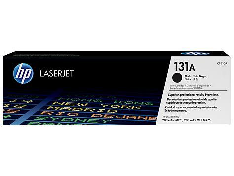 HP Консуматив 131A Original LaserJet cartridge; black; 1600 Page Yield ; 1 - pack; LaserJet Pro 200 color M251/MFP M276 CF210A