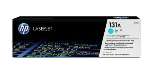 HP Консуматив 131A Original LaserJet cartridge; cyan; 1800 Page Yield ; 1 - pack; LaserJet Pro 200 color M251/MFP M276 CF211A