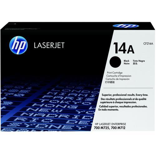 HP Консуматив 14A Original LaserJet cartridge; black; 10000 Page Yield ; 1 - pack; LJ M712MFP/M725MFP CF214A