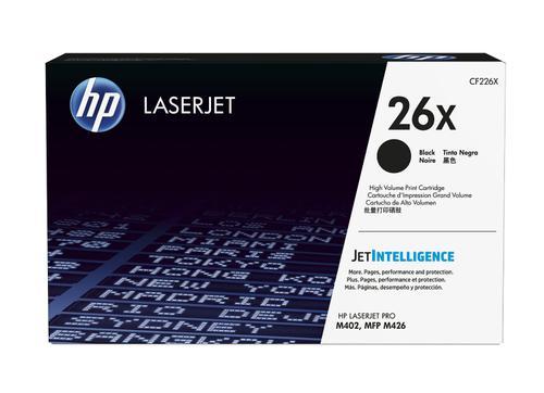 HP Консуматив 26X Original LaserJet cartridge; black; 9000 Page Yield ; ; LaserJet Pro M402/MFP M426 CF226X