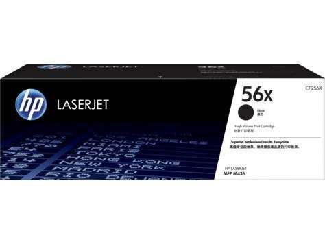 HP Консуматив 56X High Yield Black Original LaserJet Toner ; Black; Page Yield 13, CF256X,700 pages; LaserJet MFP M436n; LaserJet MFP M436nda