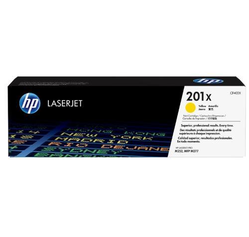 HP Консуматив 201X Original LaserJet cartridge; yellow; 2300 Page Yield ; ; Color LaserJet Pro MFP M277/M274/M252 CF402X