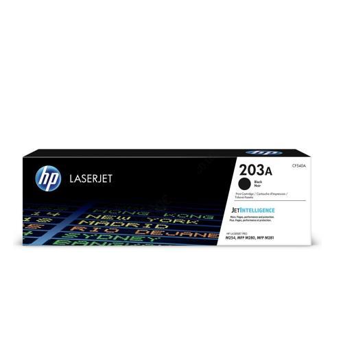 HP Консуматив 203A Original LaserJet Toner ; Black; Page Yield 1, CF540A,400 pages; Color LaserJet Pro M254dw; M254nw; MFP M280nw; M281fdn; M281fdw