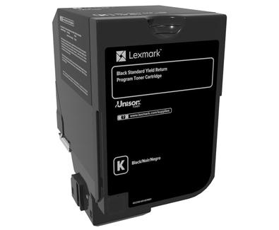 Lexmark Black Standard Yield Toner , 74C2SK0,7,000 pages,CS720de / CS720dte / CS725de / CS725dte / CX725de / CX725dhe / CX725dthe, Return Programme