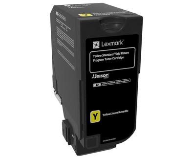 Lexmark Yellow Standard Yield Toner , 74C2SY0,7,000 pages,CS720de / CS720dte / CS725de / CS725dte / CX725de / CX725dhe / CX725dthe, Return Programme