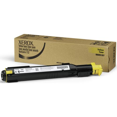 Xerox Консуматив Toner for XEROX WC7135/7132/7232 Yellow - 8K 006R01271