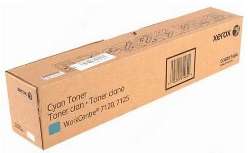 Xerox Консуматив Cyan Toner / 15K at 5% coverage / for WorkCentre 7120/7125, 006R01464, WorkCentre 7220/7225
