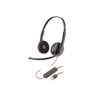 Plantronics Слушалка с микрофон Blackwire C3220 Duo USB-A 209745-101