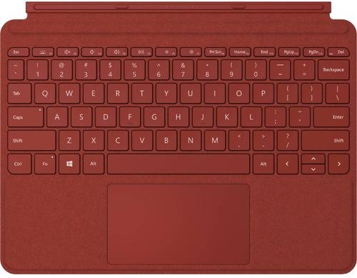 Microsoft MICROSOFT Surface Go § GO 2 Type Cover Colors Poppy Red, KCS-00090, Keyboard Backlight, ENG