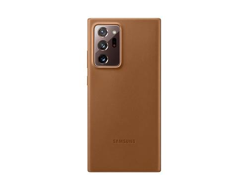 Samsung Note 20 Ultra Leather Cover Brown EF-VN985LAEGEU