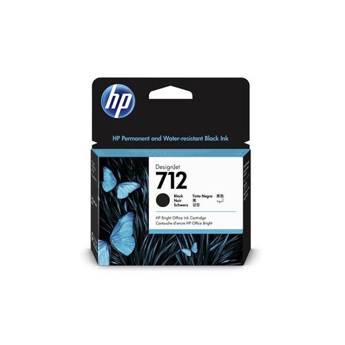 HP 712 80ml Black Ink Cartridge 3ED71A