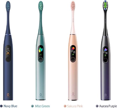 Електрическа четка за зъби Oclean X Pro Smart Sonic Лилава