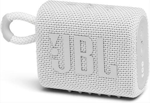 JBL GO 3 WHT Portable Waterproof Speaker JBLGO3WHT