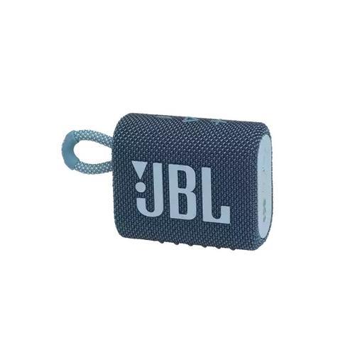 JBL GO 3 BLU Portable Waterproof Speaker JBLGO3BLU