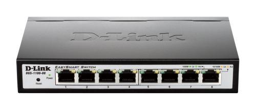 D-Link 8-Port Gigabit Smart Switch DGS-1100-08V