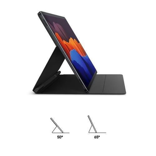 Samsung Tab S7+ Book Cover Black EF-BT970PBEGEU_S