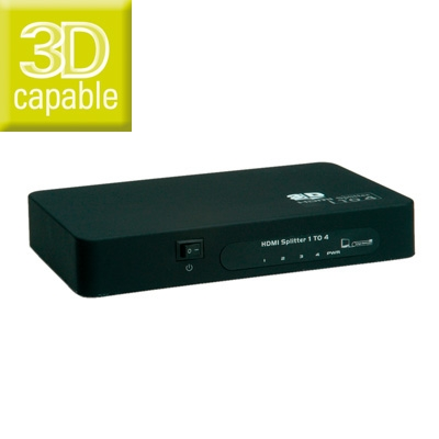 Value HDMI Splitter 4-way 14.99.3506