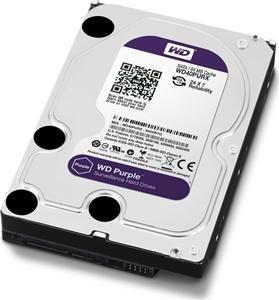 WD Purple 1TB 7200/SATA3/64MB WD10PURX
