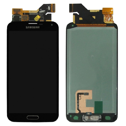 Samsung i9600 G900 Galaxy S5 LCD with touch Black