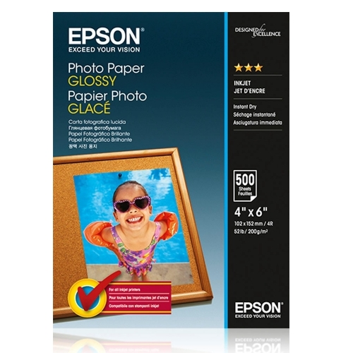Epson Photo Paper Glossy 10x15cm 500 sheet C13S042549