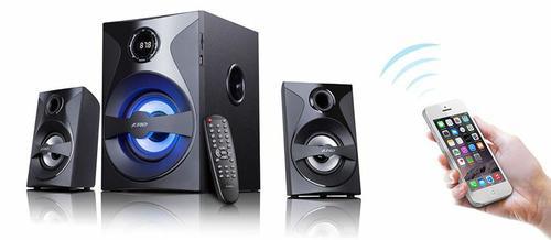 Fenda F&D Тонколони Speakers 2.1 Bluetooth - F380X - 54W - NFC/USB+SD MP3/FM/Remote
